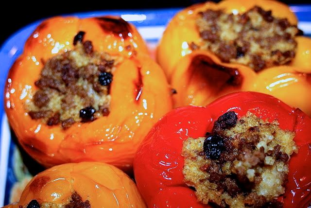 Moroccan Stuffed Peppers