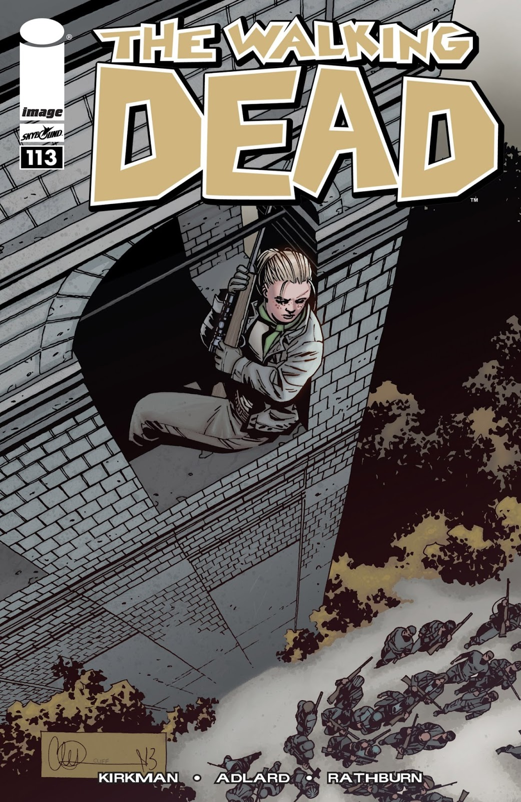 The Walking dead cómic 113