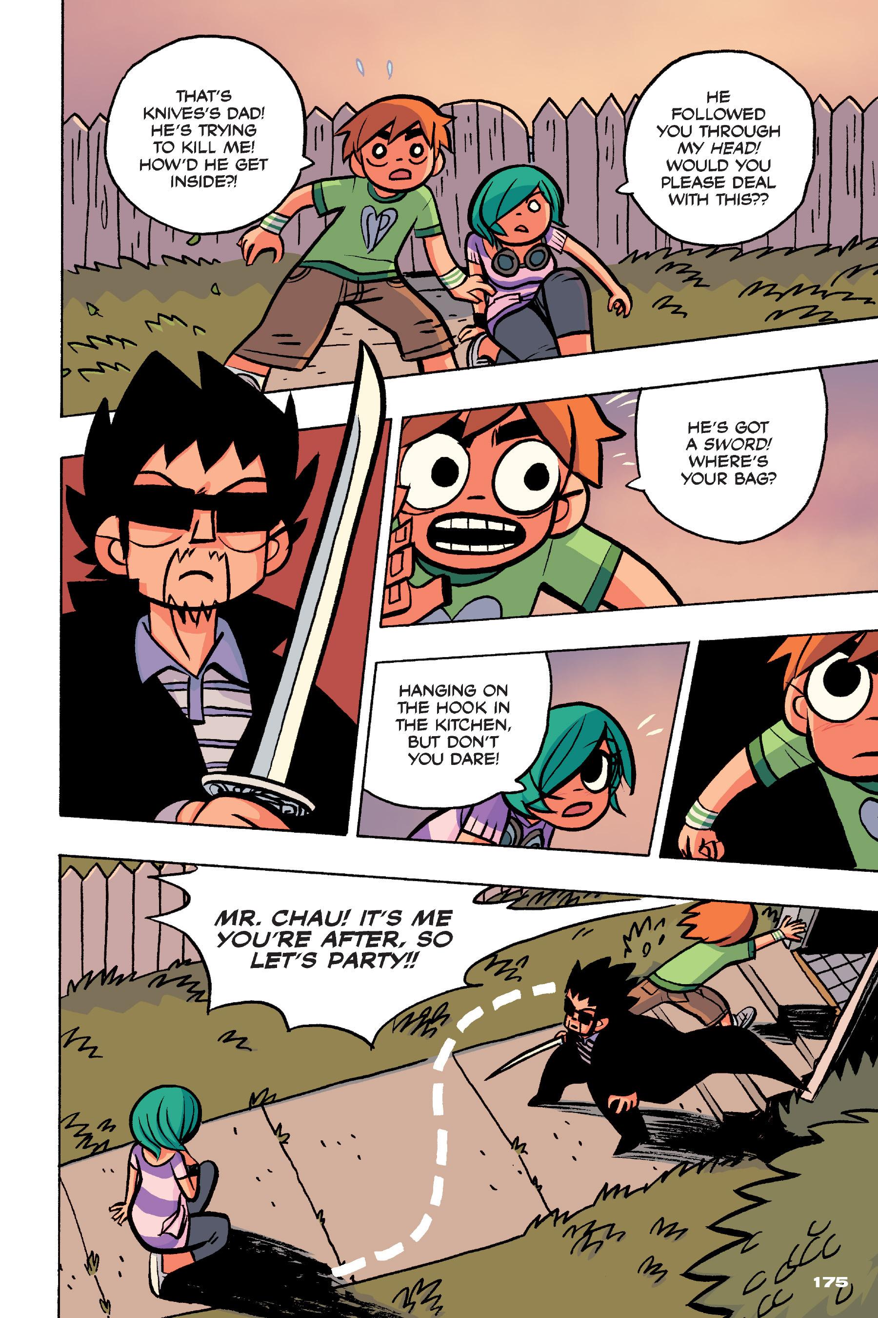 Read online Scott Pilgrim comic -  Issue #4 - 172