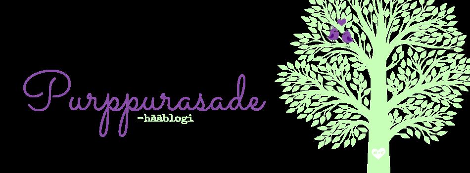 Purppurasade - hääblogi