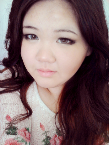 Barbie Puffy 3 Tones Grey colored contacts