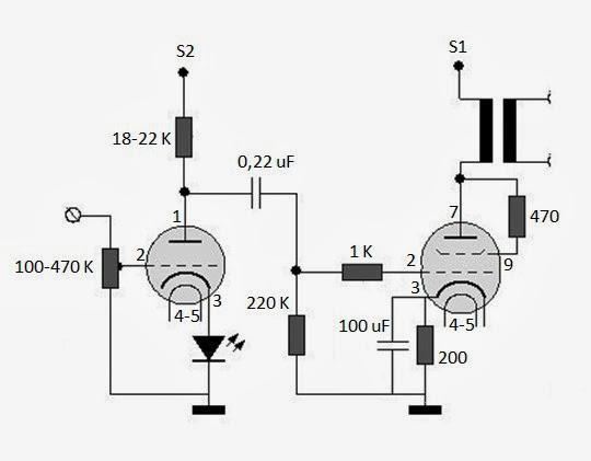 diy - amplificator single-ended cu tuburi el84