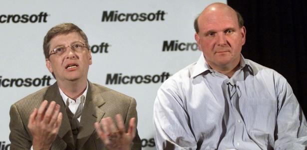 Bill Gates e Steve Ballmer apoiam o casamento gay nos Estados Unidos (Foto: Anthony P. Bolante/Reuters)