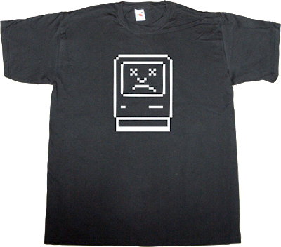 steve jobs apple macintosh vintage fanboy t-shirt ephemeral-t-shirts