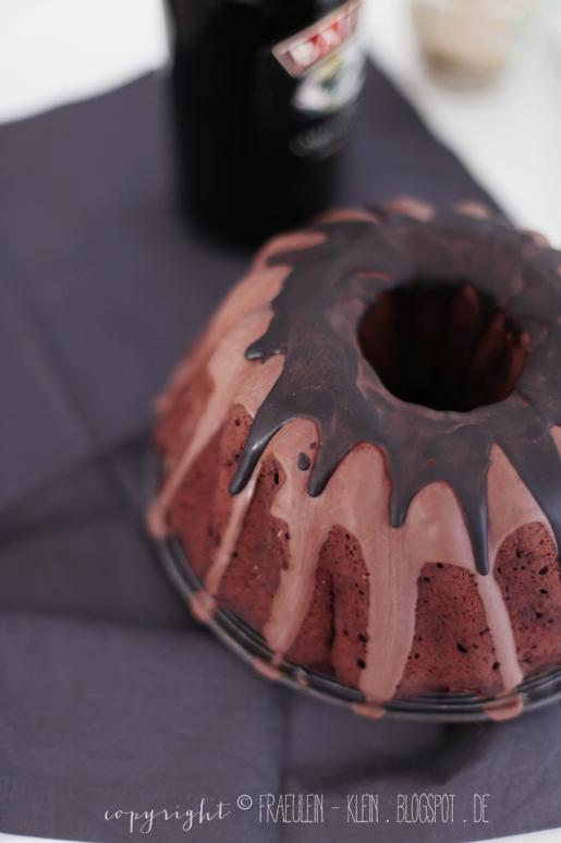 Schokoladen-Baileys-Kuchen und Schokoladen-Baileys-Trüffel