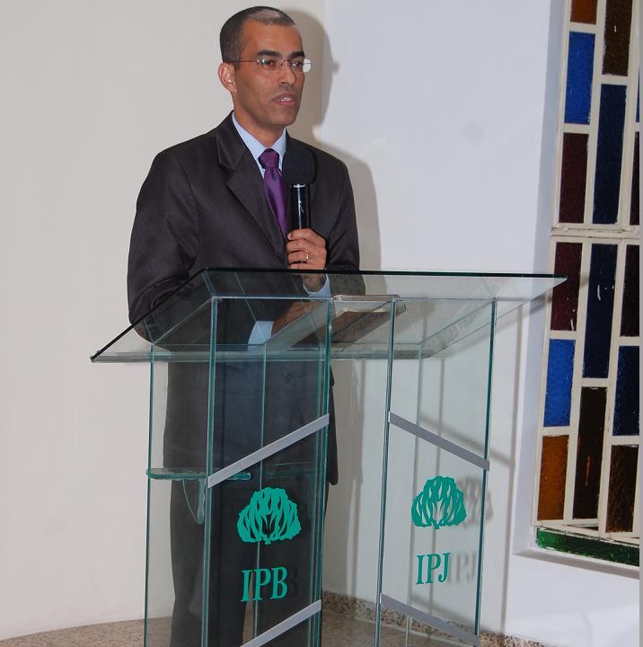 Rev. Ronildo Farias Pres.Sínodo Alagoas-Sergipe