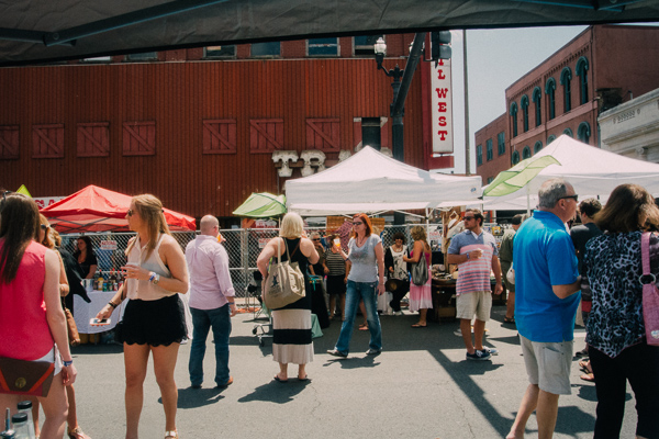 Review of Nashville's Tres de Mayo Margarita Festival held in downtown Nashville, Tennessee
