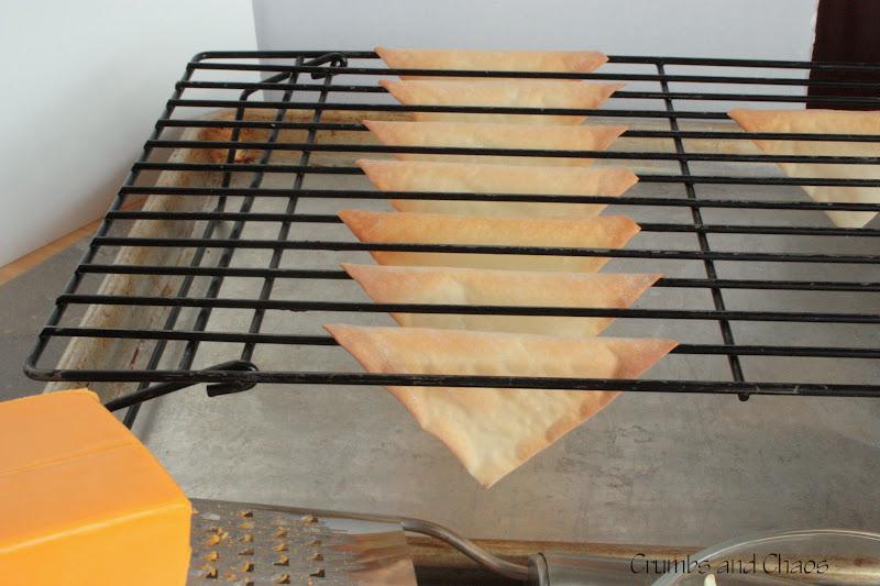 how to make nomess wonton tacos