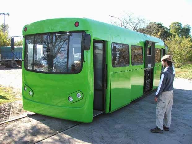 Tecnotren, Transporte Ecologico Hecho en Argentina