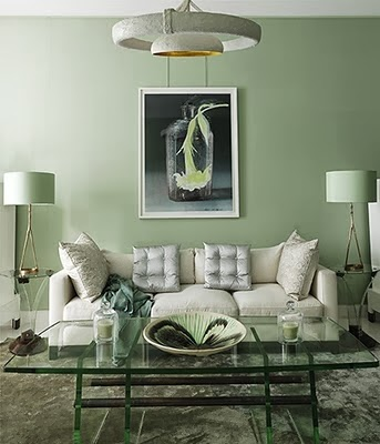 La casa che vorrei 3 - Bagno verde salvia ...