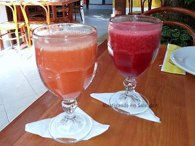 Restaurante Carro de Boi: Sucos de Acerola e de Amora