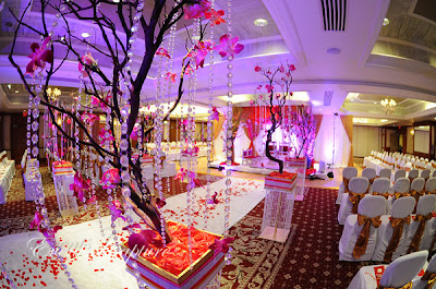 Romantic Crystal Wedding Ceremony Decorations