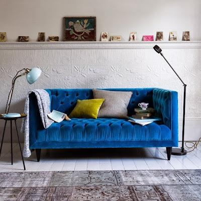 Sofaer og stoler i de vidunderligste knallfarger!