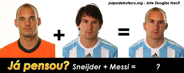 Sneijder + Messi