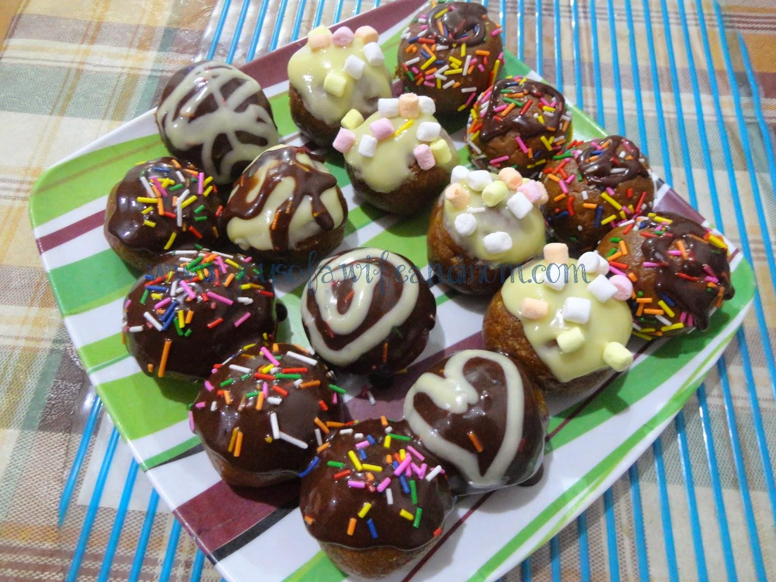 Home Made Graham Cake Balls