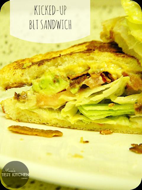 Kicked-Up BLT Sandwich