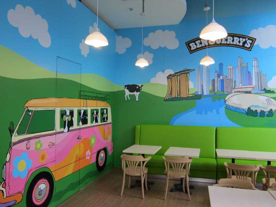 FoodieFC: Ben & Jerry's Singapore: Rochester Park Opening, Free ...
