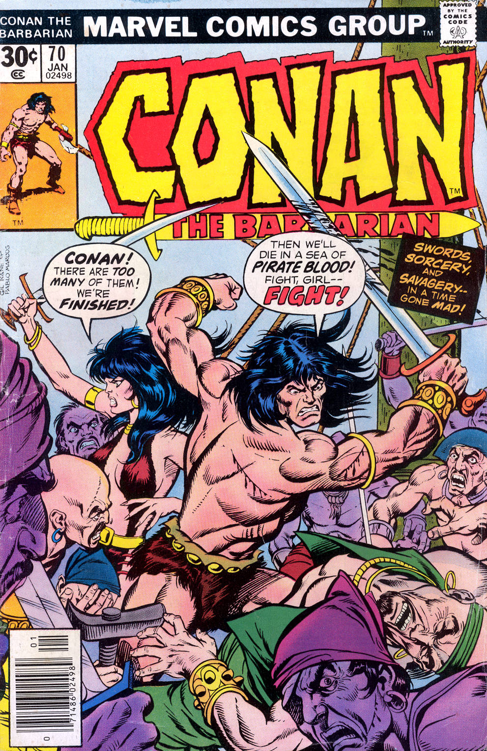Conan the Barbarian (1970) Issue #70 #82 - English 1