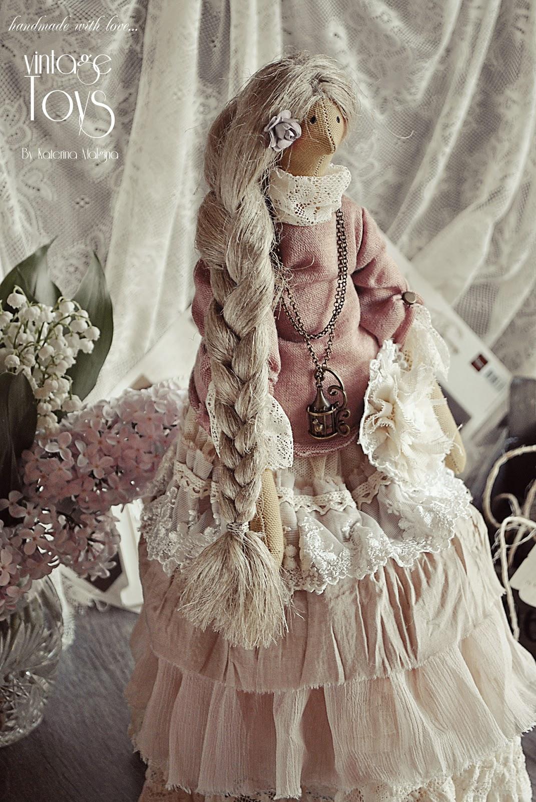 """Кукла Тильда в стиле бохо """"Аромат весны"""""""
