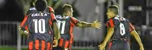 Vitória 4 x 1 Bragantino