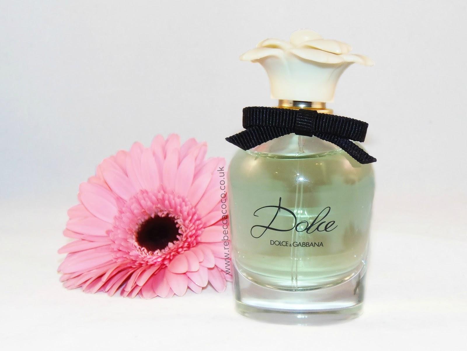 dolce eau de parfum by dolce gabbana review rebecca coco. Black Bedroom Furniture Sets. Home Design Ideas