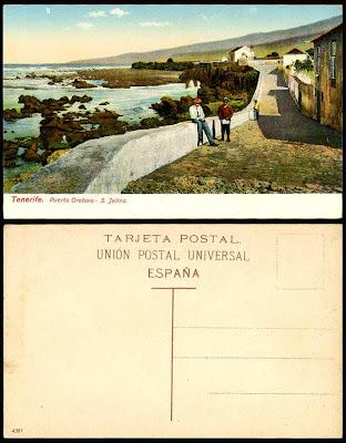San Telmo, Puerto de la Cruz, Tenerife - Foto antigua