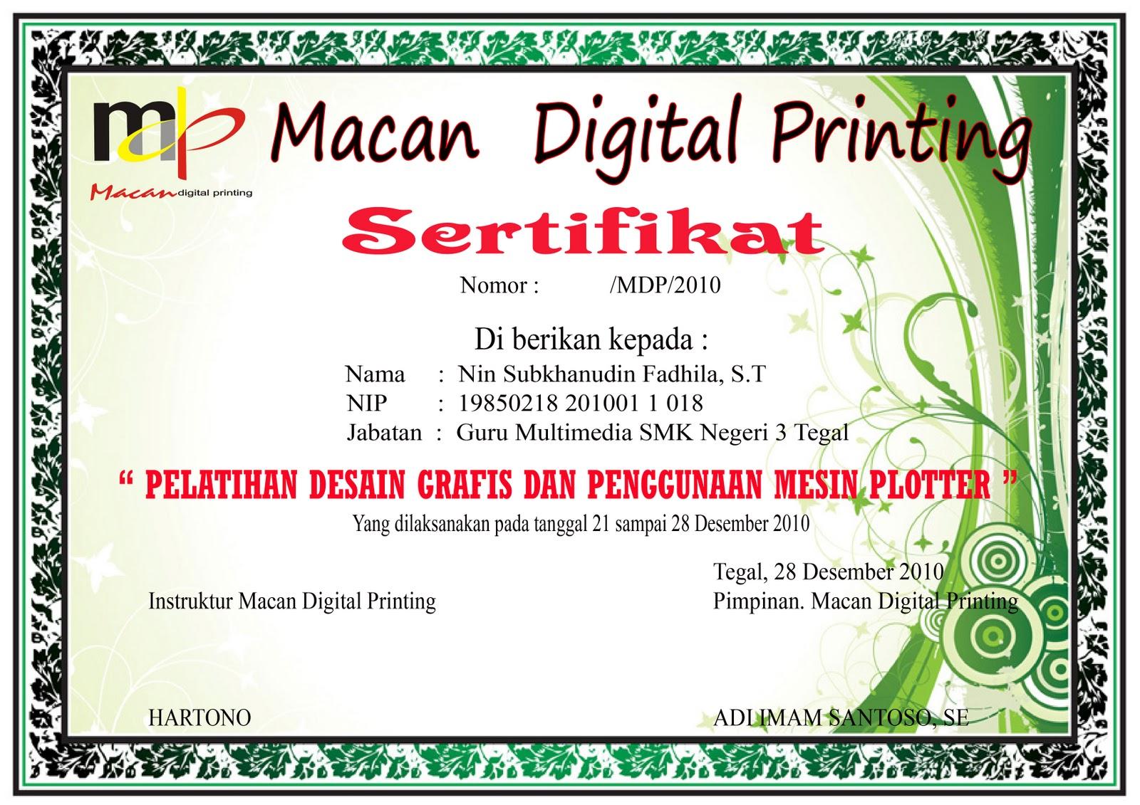 Download Contoh Sertifikat Picture