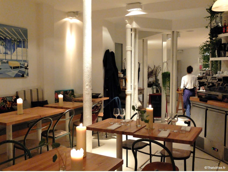 Restaurant Hai Kai Paris menu food du marché caviste cave à vins quai de Jemmapes Canal Saint Martin Paris