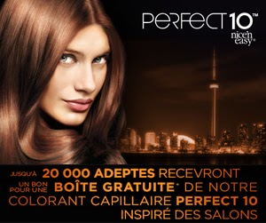 Concours clairol perfect 10 partagez le salon for A perfect 10 salon