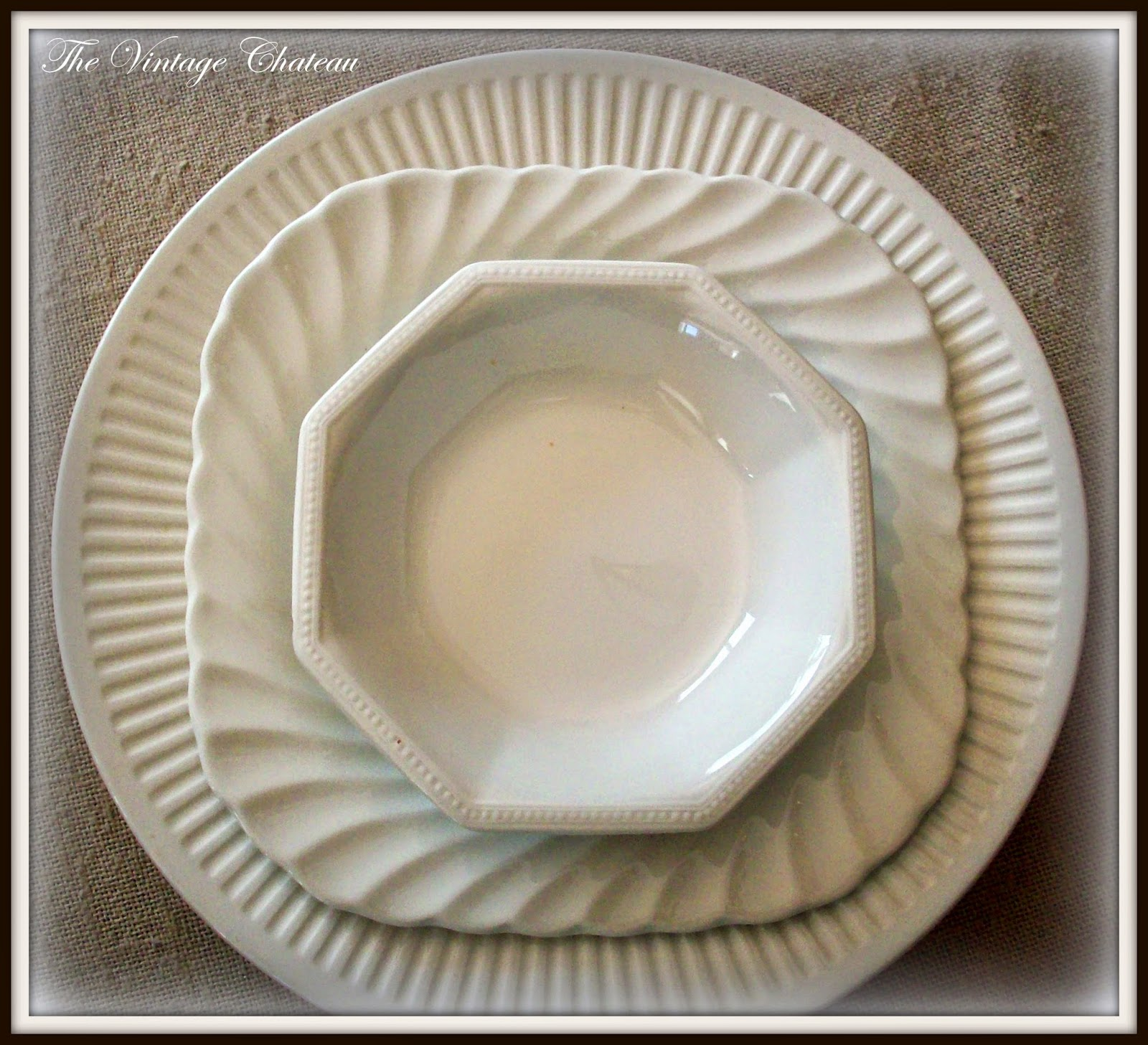 The Vintage Chateau: Irresistible Ironstone