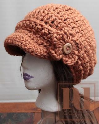 Free Crochet Chunky Newsboy Hat Pattern : CHUNKY NEWSBOY CROCHET PATTERN Crochet Patterns Only