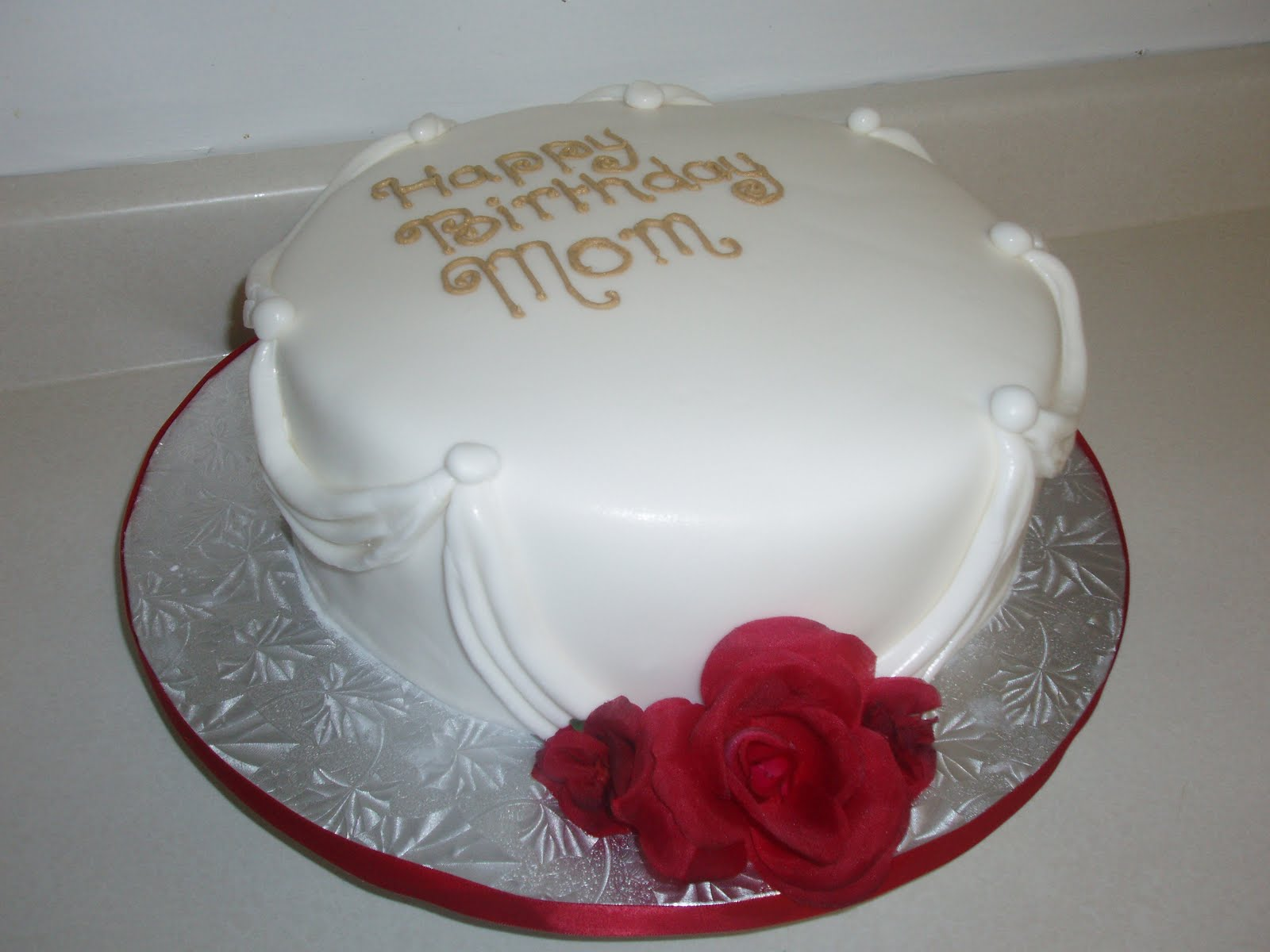 Sugarbakers Cake Design Birthday Cake For Mom
