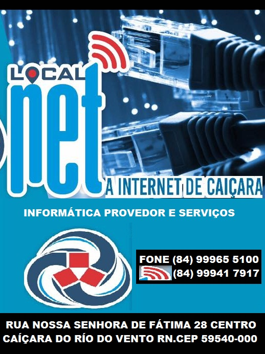 LOCAL NET INFORMÁTICA  PROVEDOR E SERVIÇOS