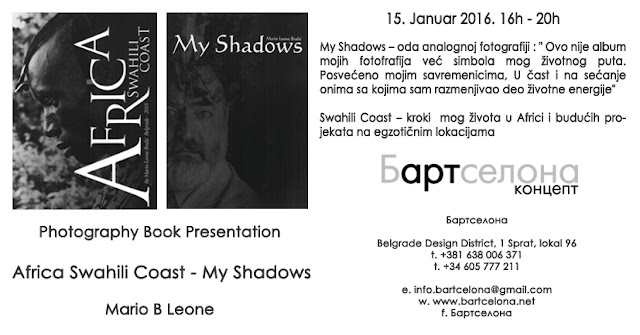 Photography Books Presentation My Shadows & Swahili Coast
