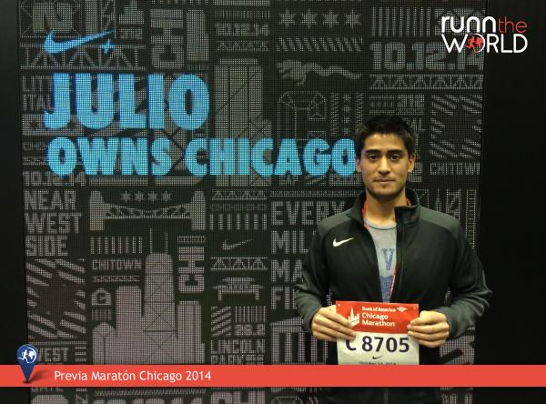 Maratón Chicago 2014