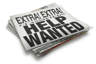 Image of entire Newspaper as help wanted
