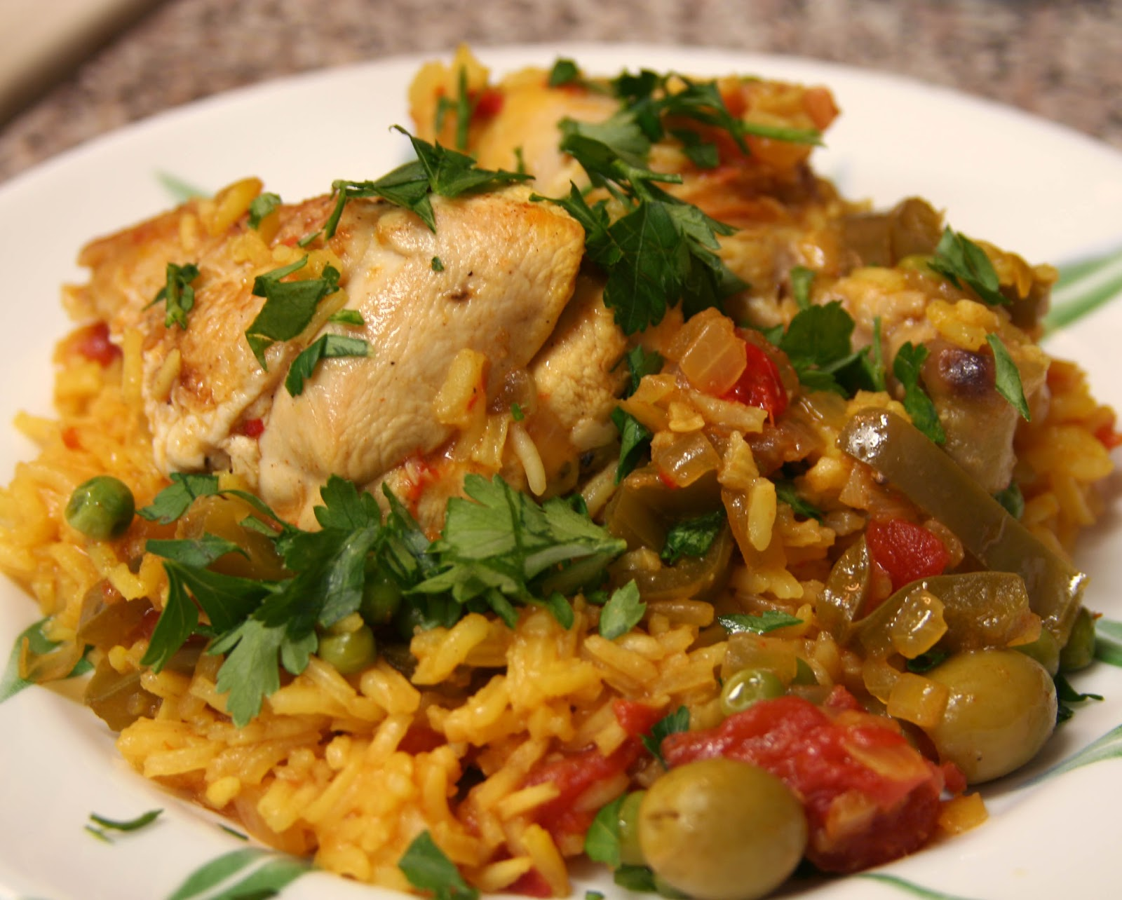 Culturally Confused: Gourmet: Arroz con Pollo (Rice with ...