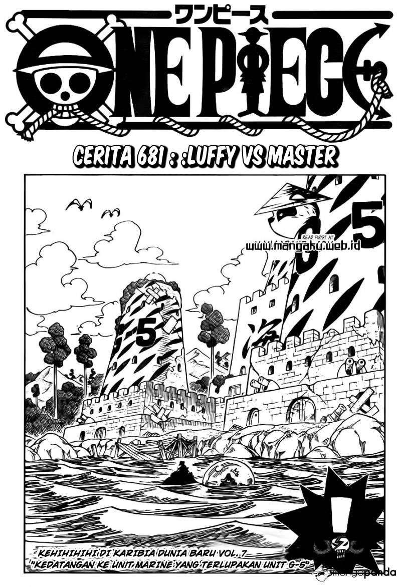01 One Piece 681   Luffy vs Master