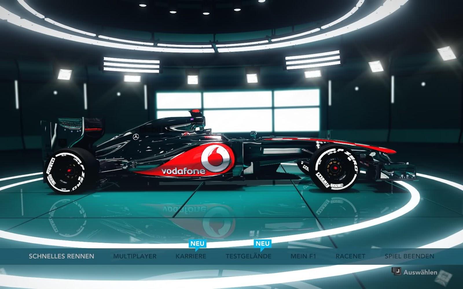 F  R Euch Neue Farben In Den Showroom Von Codemasters F1 2012
