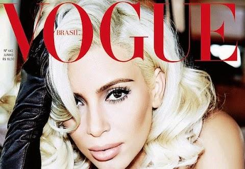 kim kardashian by ellen von unwerth su vogue brasil