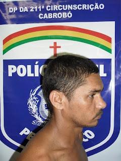 CABROBÓ-PE: PM prende homem procurado pela justiça do Estado do Ceará