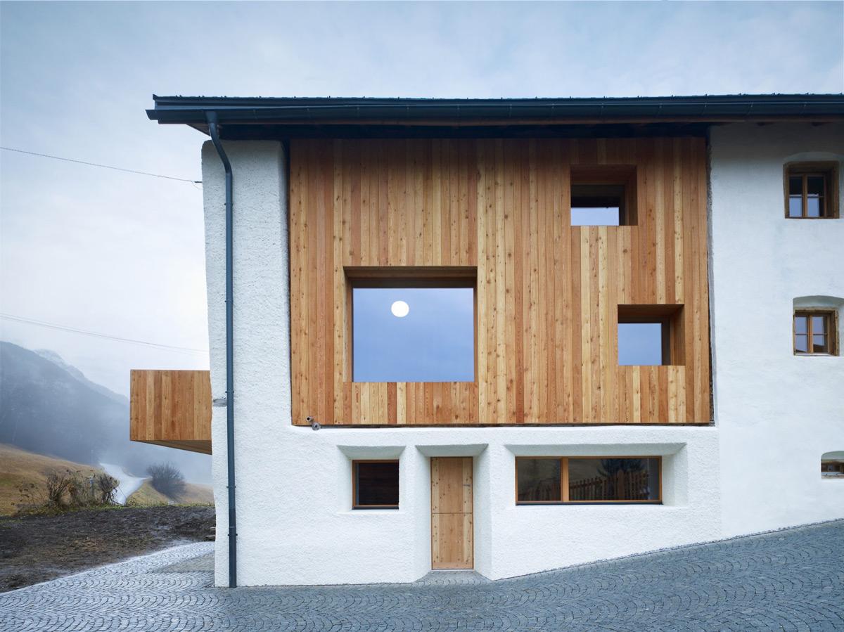 simplicity love: Florins Residence, Switzerland  Philipp Baumhauer ...