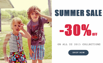 TUC TUC BABY & CHILDREN'S CLOTHES SPRING/SUMMER 2015 COLLECTION WITH 30% DISCOUNT