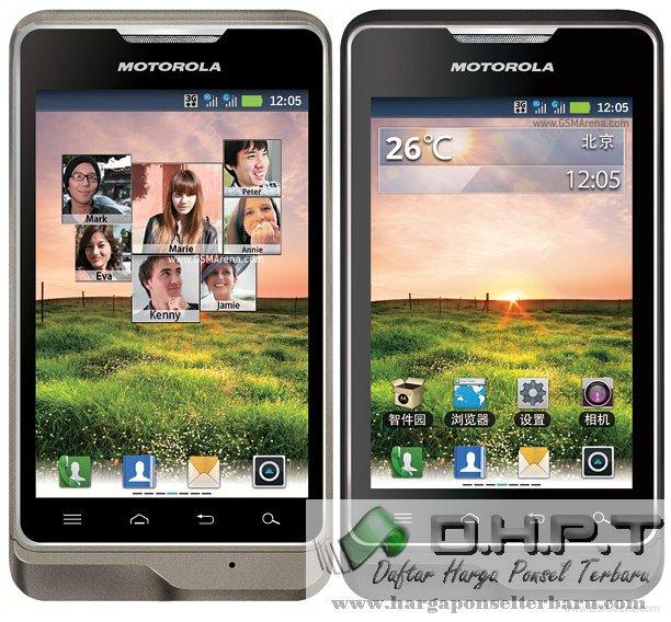 Motorola XT390 Review Harga Hp Dan Spesifikasi