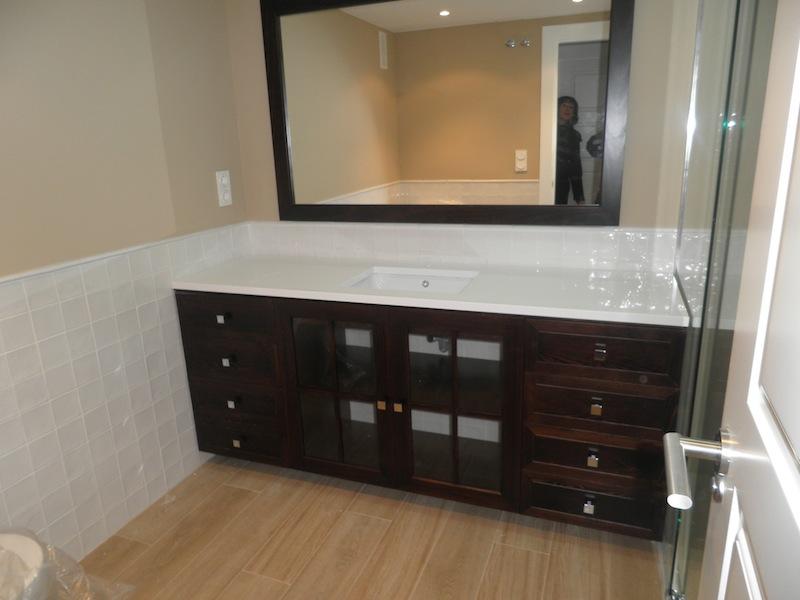 Mueble de lavabo para cuarto de ba o muebles cansado for Mueble lavabo rustico