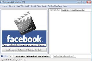 FaceBook video indirme (Tek Tıkla)