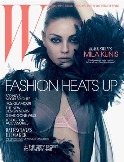 "Mila Kunis, Ukranian born star of ""Black Swan"" talks about coming to America"