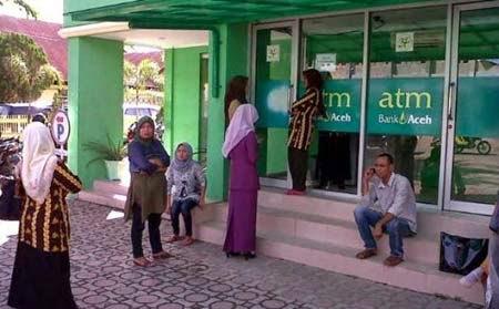 Biaya Tarik ATM Bank Aceh