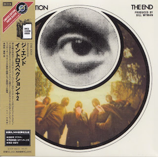 THE END - INTROSPECTION (DECCA 1969) Jap mastering cardboard sleeve + 2 bonus