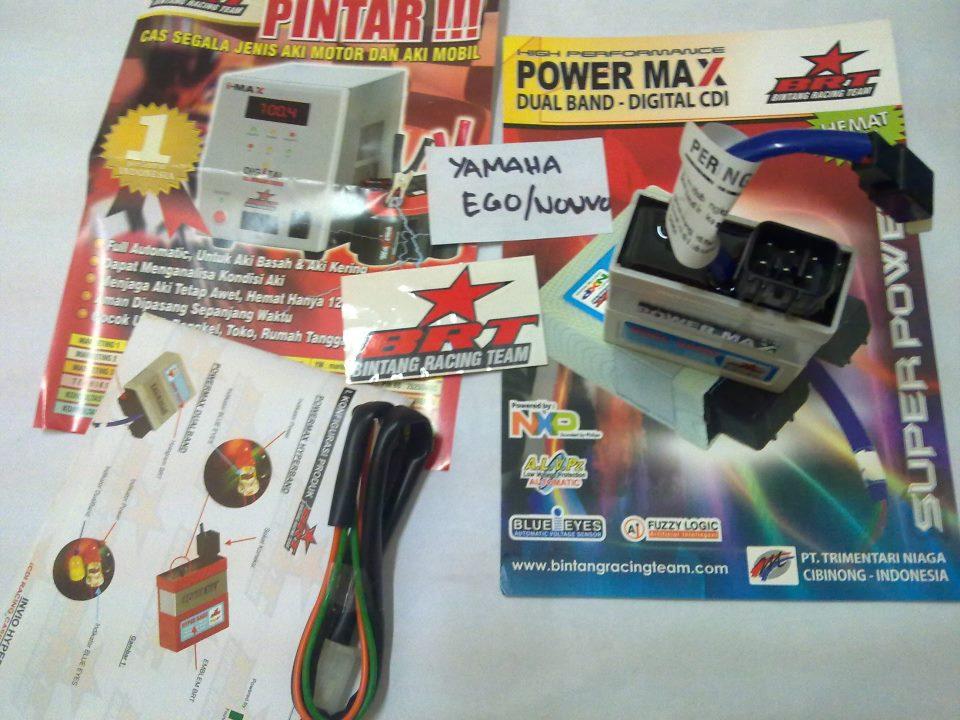 CDI BRT Powermax Dualband Yamaha Ego / Nouvo / Mio ~ PALEX